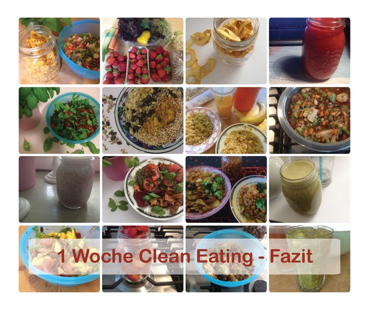 1 Woche Clean Eating Fazit