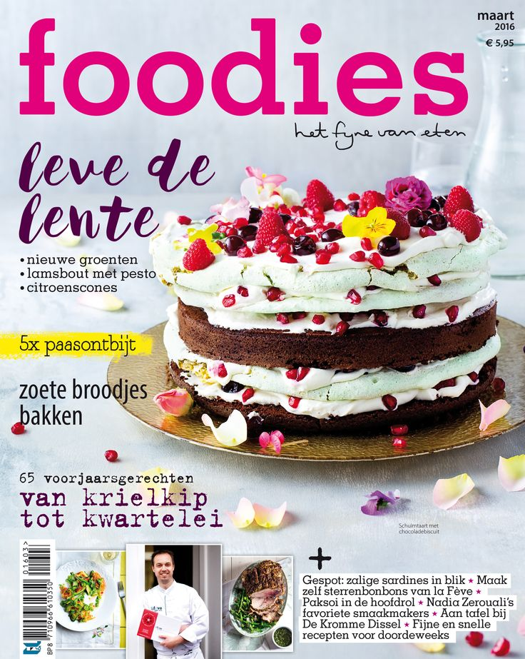 foodies 03/2016: Leve de lente