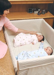 Registry Basics for Twins - Lucie's List Multiples - Arms Reach Co SleeperTwins