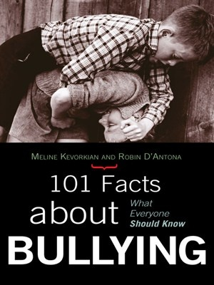 101 Facts about Bullying is designed to break down what the research says about bullying and its effects, offering ideas for what can and should be done to minimize or reduce it. Kevorkian systematically discusses topics ranging from relational bullying to cyber bullying to media and video violence to the legal ramifications of bullying, debunking myth and uncloaking the facts about bullying and its prevention.