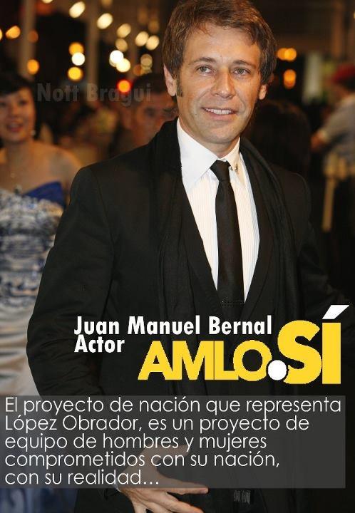 Juan Manuel Bernal Con AMLO