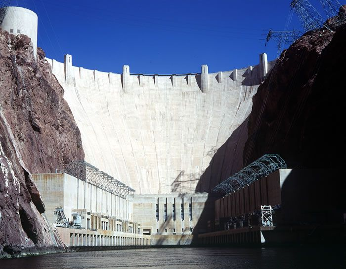 Hoover Dam, one of the most incredibly breathtaking places I have ever been.  The views are incredible, and the fact that it is man made.  Wow