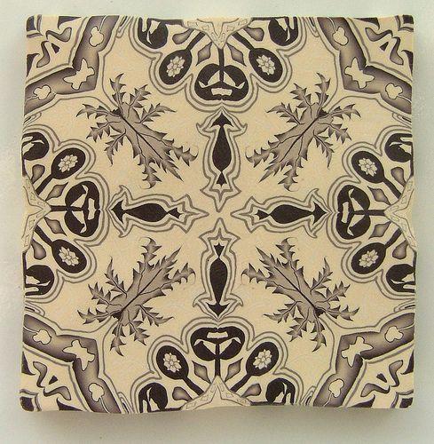 Aesthetic Tile Jana Roberts Benszon 2003 Flickr