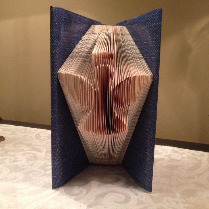 Angel, Christmas, Folded book art
