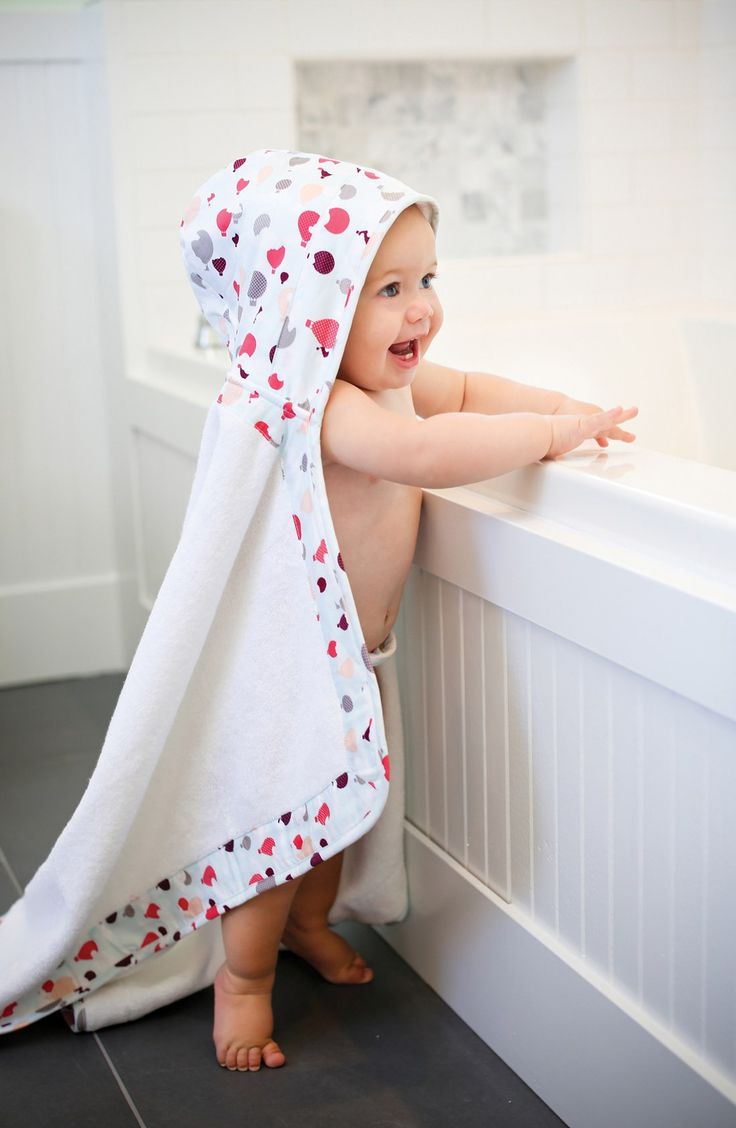 'Lille' Hooded Terry Towel (Baby)