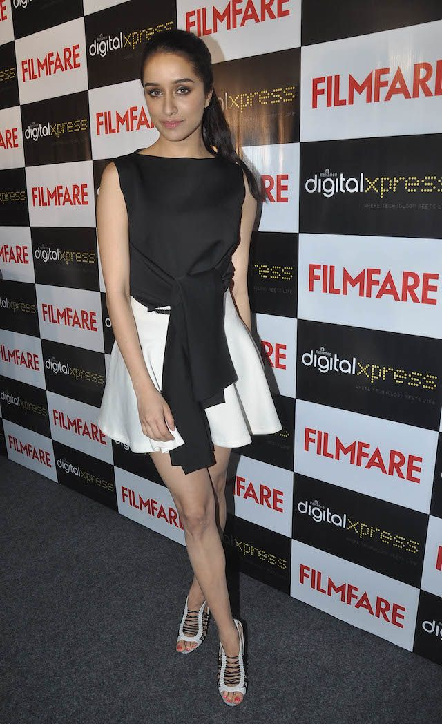 Shraddha Kapoor unveils her sexy new Filmfare cover. #Bollywood #Fashion #Style #Beauty