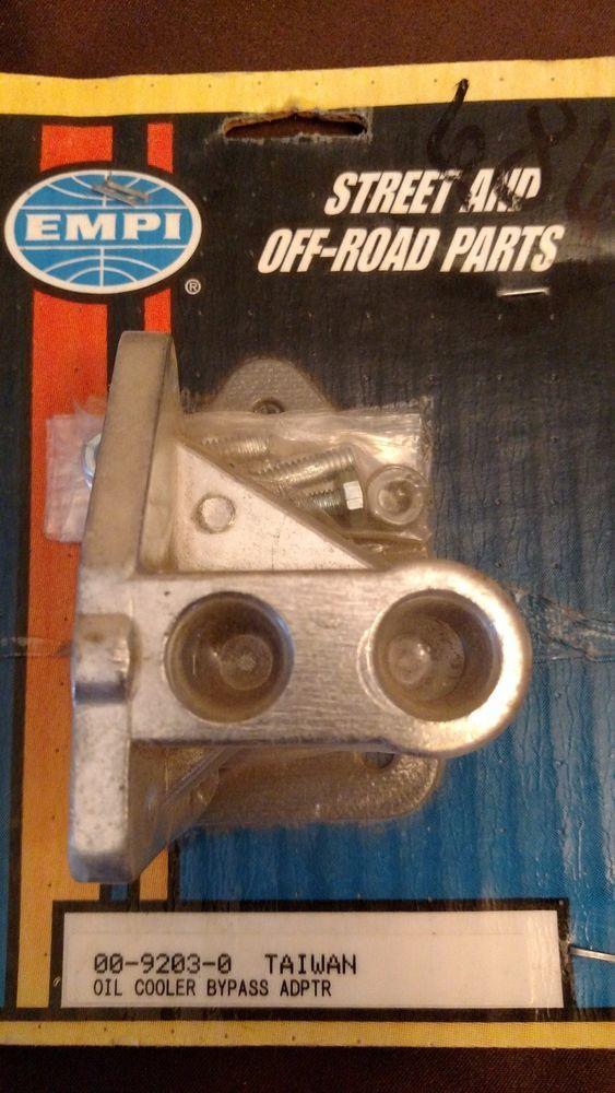 EMPI Oil Cooler Bypass 00-9203-0 Dune Buggy or Sand Rail #EMPI