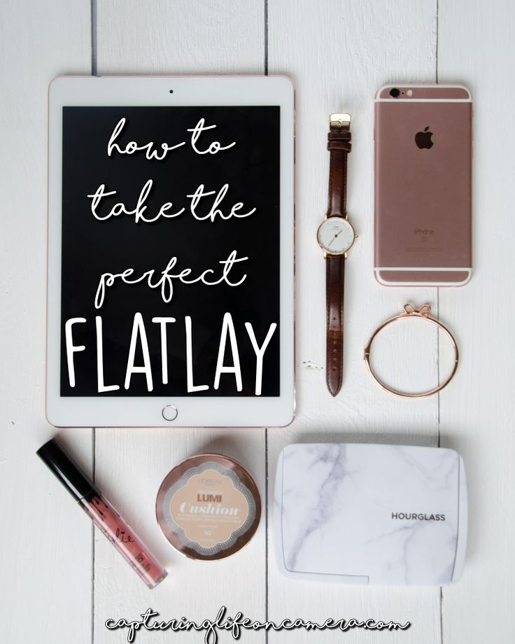 Flatlays are a great way to share photos for blog posts or to add to your Instagram feed. They are a great way to show off some of your favorite things in a great looking photo. In this blog post, you will learn the secret on how to take a flatlay and some props that will enhance your photo.