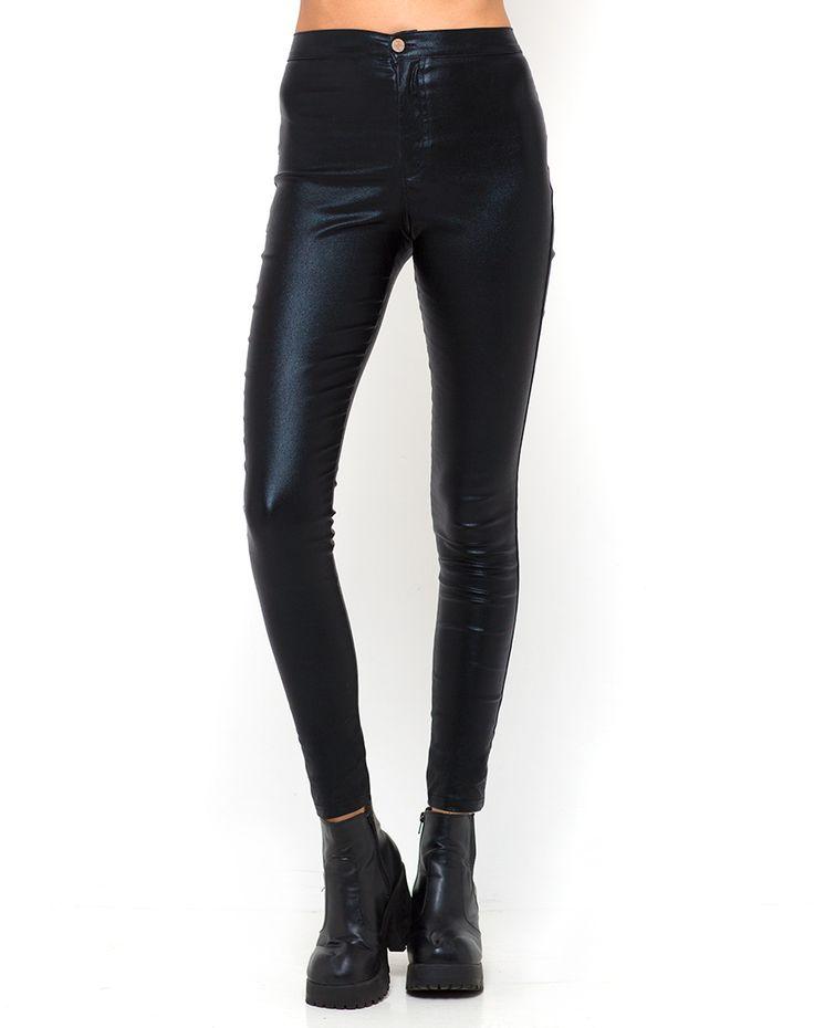 Motel Metallic Galaxy Trousers in Black, TopShop, ASOS, House of Fraser, Nasty gal
