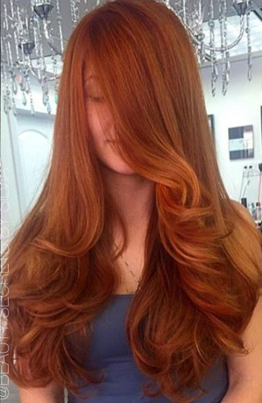 Long Red Hairstyles 43