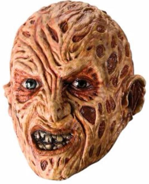 Freddy 3/4 Mask Halloween - Guaranteed Delivery for Halloween