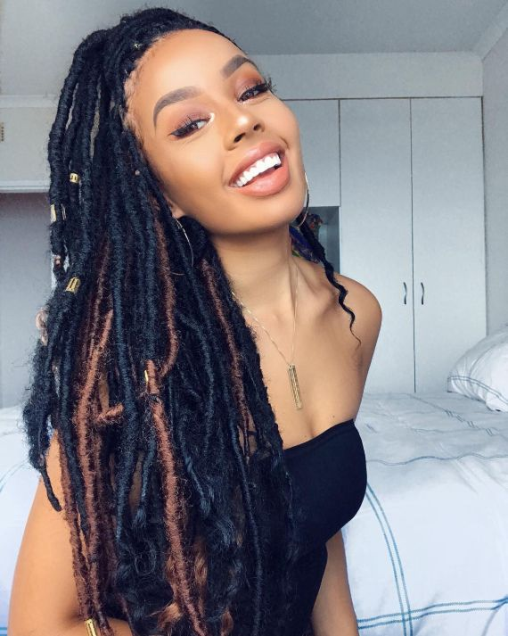"""Inspiration """"Faux locs Hairstyle"""" – CONFESSIONS D'UNE  BEAUTY LOVEUSE"""