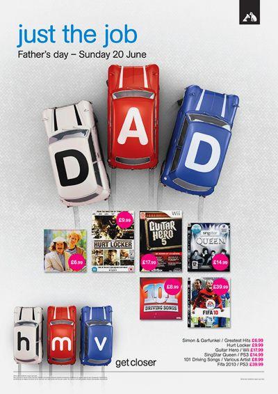 HMV Father's Day Campaign