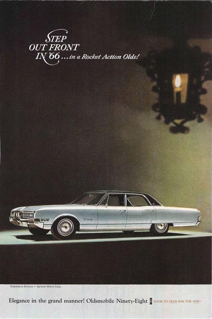 1966 oldsmobile ninety eight luxury sedan ad