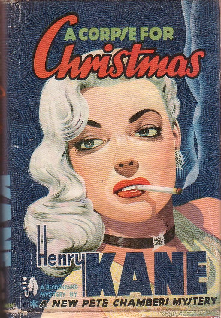 A Corpse For Christmas #vintage #pulp_fiction #magazines
