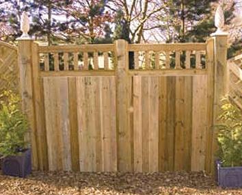 Midgley Entrance Gate