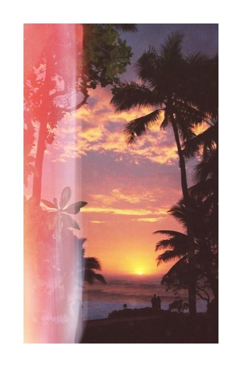 summer MY EDIT paradise beach waves palm trees sunset tropical summer blog tropical blog