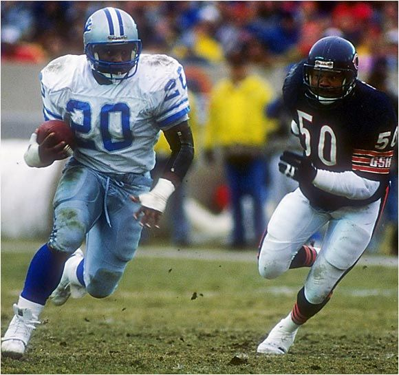 barry sanders!! never been a more exciting player!