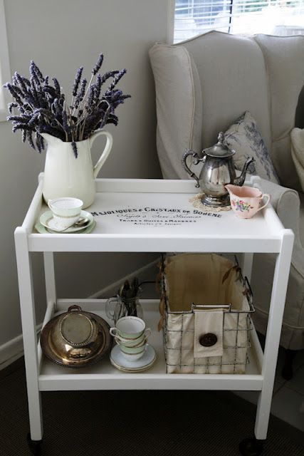 Antique Tea TrolleyBy The Whimsical Wife