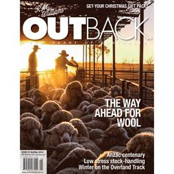 J M Williams Outback Magazine Oct/Nov Issue 97 The Way Ahead for Wool