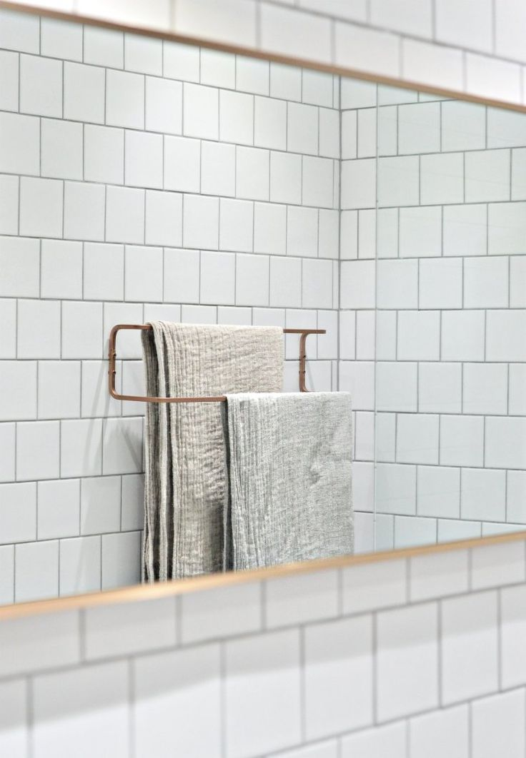 10 minute DIY: Ikea towel rail hack | Ikea hack | bathroom design