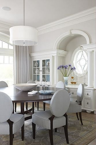 Michael Partenio Liked Homescapes Sd Staging San Diego Home Blue Dining RoomsDining Room ChairsDining