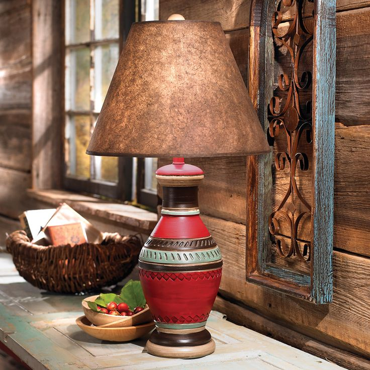 Ranchero Southwestern Lamp
