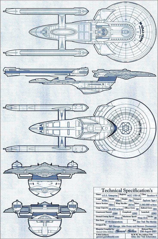 NCC-1701-B USS ENTERPRISE