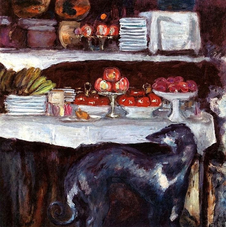 Still LIfe with Greyhound Pierre Bonnard - circa 1923