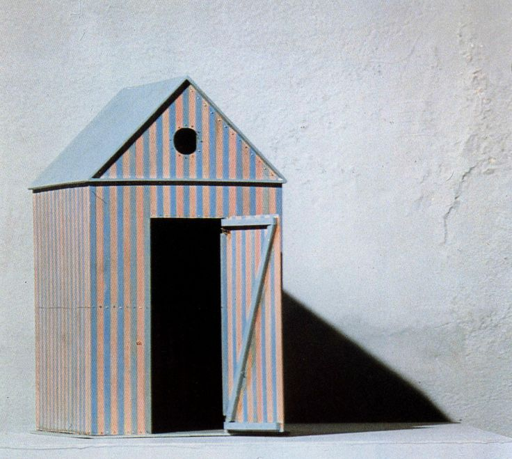 Aldo Rossi, Cabine dell'Elba Furniture, Model, 1979