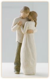 Willow Tree - Promise: My wedding cake topper!