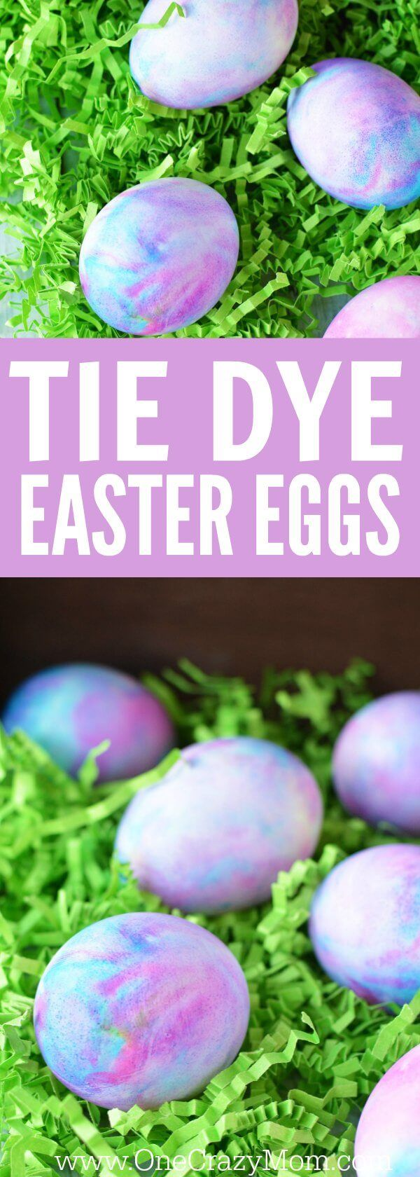 Learn how to dye Easter eggs. Shaving cream Easter eggs are so fun! Once you learn how to dye Easter eggs with shaving cream, you will see how easy it is. Try these gorgeous tie dye Easter eggs and you will love dying Easter Eggs!