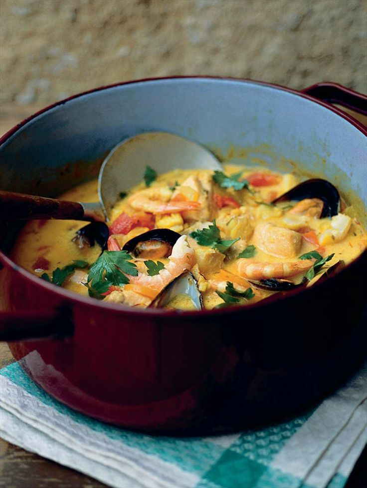A hearty fish soup by Anna Bergenström from Under The Walnut Tree | Cooked