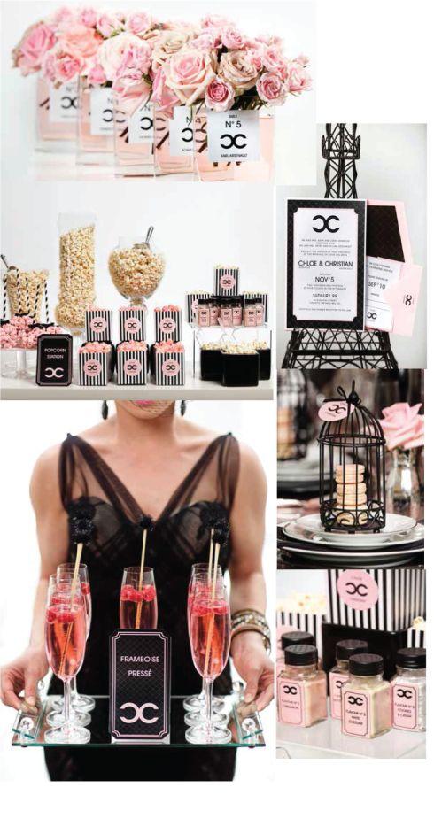 Elegant Wedding Magazine – Coco Chanel Inspired Style Shoot
