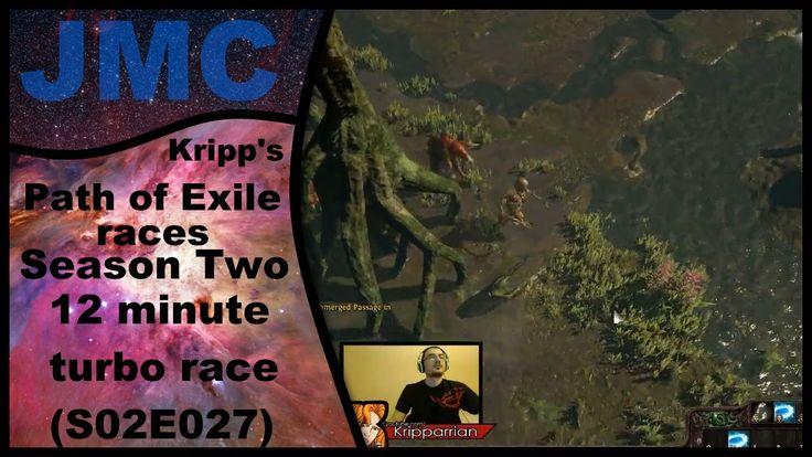 Kripp's Path of Exile races - Season Two, Turbo 12 minute solo (S02E027)