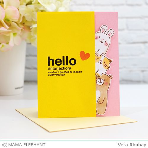 mama elephant | design blog: STAMP HIGHLIGHT : PAGE HUGGERS