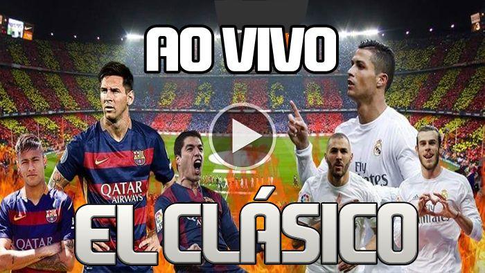 Assista agora ao vivo REAL MADRID X BARCELONA e Flamengo x BOTAFOGO ao vivo HD - Via Youtube 1920x1080