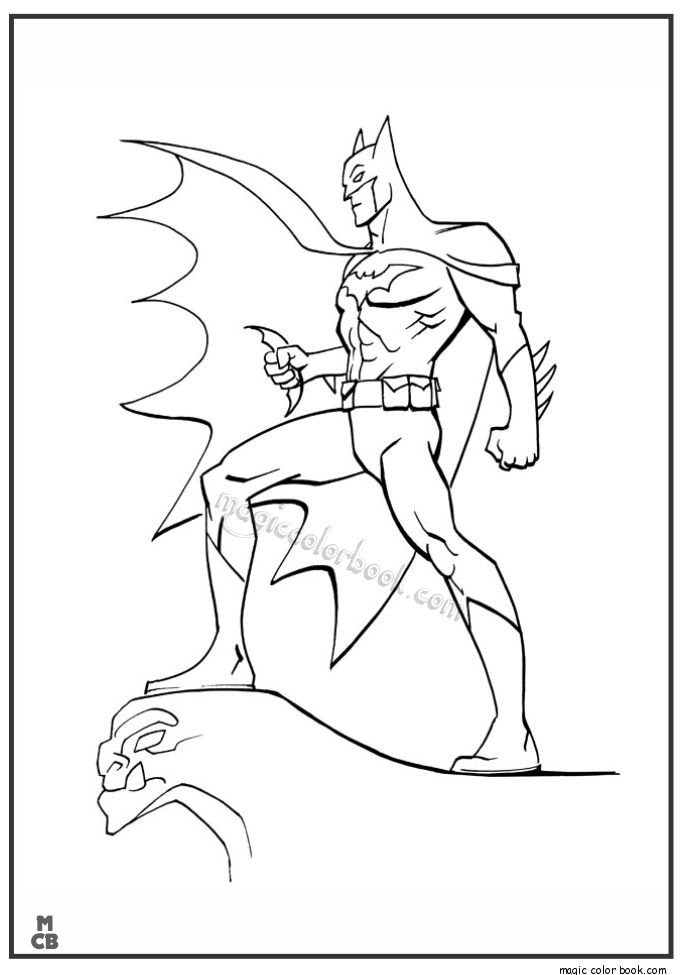 28 mejores imágenes de Batman Coloring Pages en Pinterest | Batman ...
