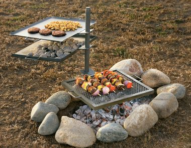Cabela's: Camp Chef Mountain Man Over-The-Fire Grill and Griddle