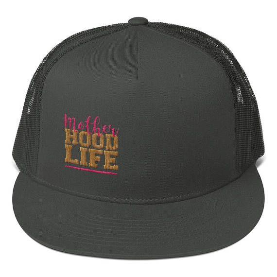 Casquette Mother Hood Life Snapback Hat Trucker Hat