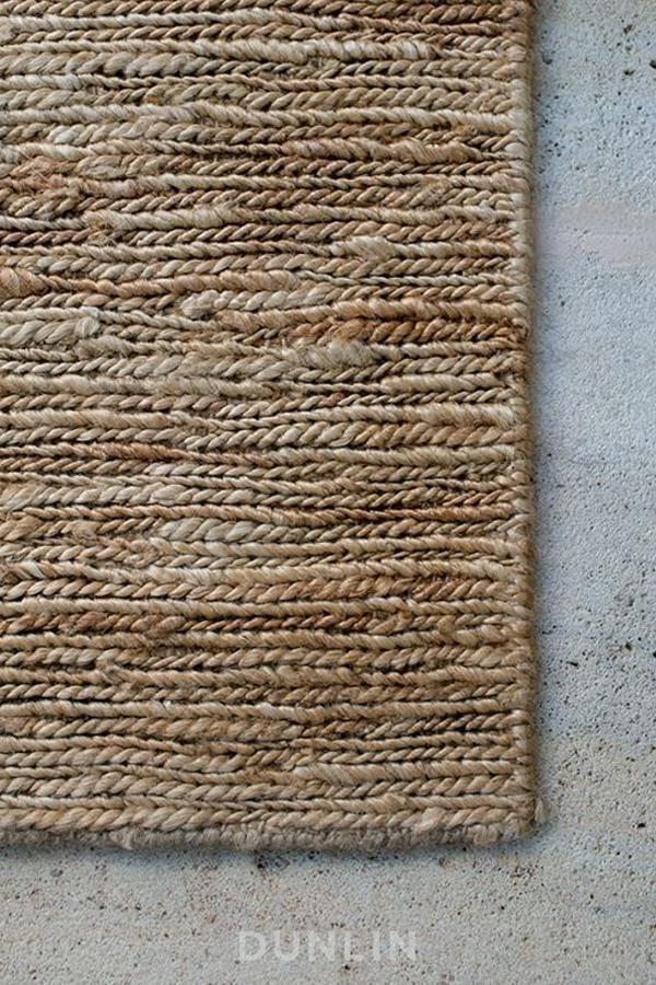NODI Braided Jute Rug in Natural