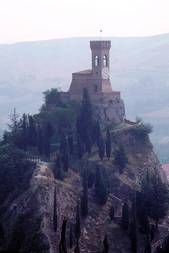 The stronghold of Brisighella, Italy
