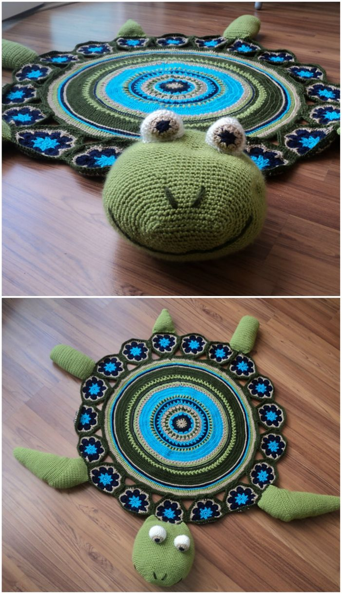 Crochet Joyce And Justin Whale Rug Pattern Crochet Rug Patterns Free Easy Crochet Rug Patterns Rug Pattern