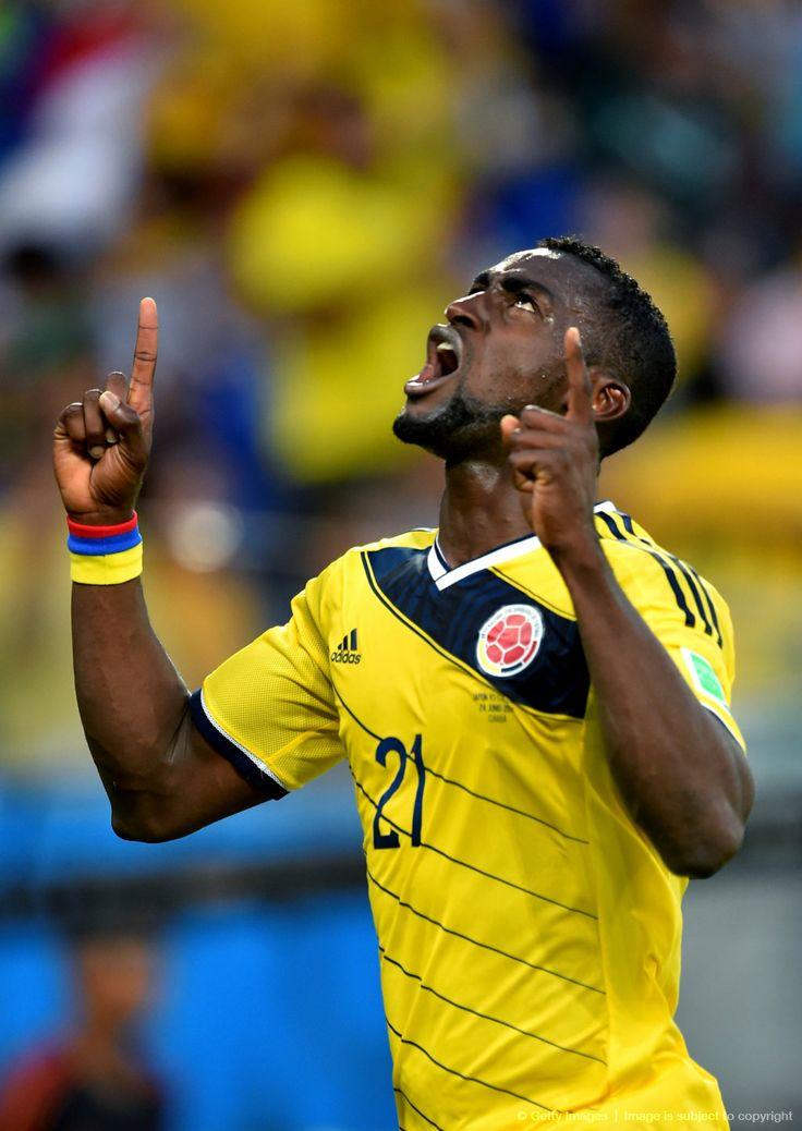 """Bien por Jackson Martínez que logró hoy ante Japón reencontrarse con el gol [2]: «2014 FIFA Copa Mundo Brasil, """"todos en un mismo ritmo""""» [martes, 24 de junio de 2014]."""
