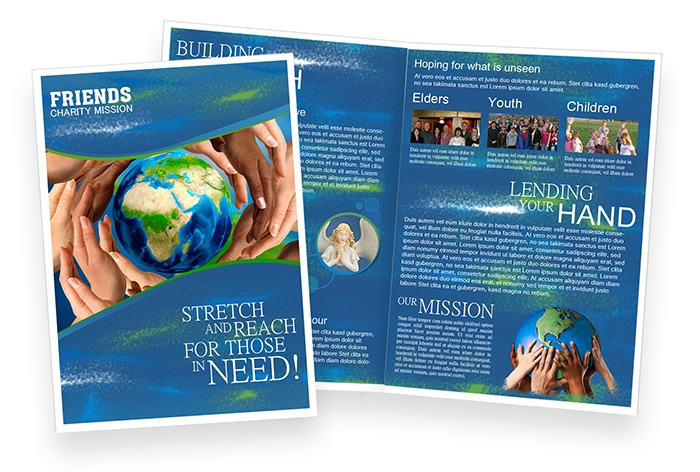 Friends Charity Mission   Sample Brochure