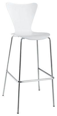 Cadeira Alta / Banco Hotelaria Branco JACOB (Cadeira Bar)