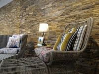 Our display of wall panels in our show room. It fits the best with your living room