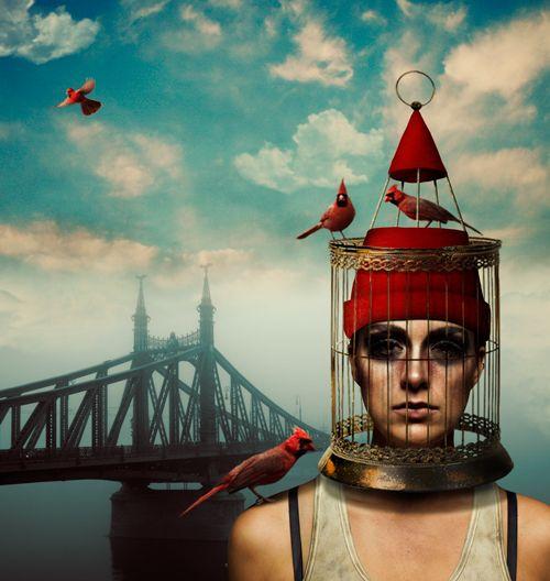 Городская сказка в Фотошоп