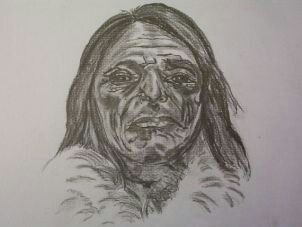 Portret Indiaanse man