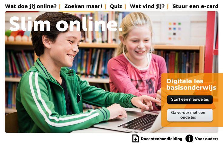 Les voor leerlingen in de onderbouw van het   voortgezet onderwijs over de mogelijkheden van internet. De les biedt handvatten   en tips om er op een verstandige manier mee om te gaan, maar wijst ook op de   valkuilen.